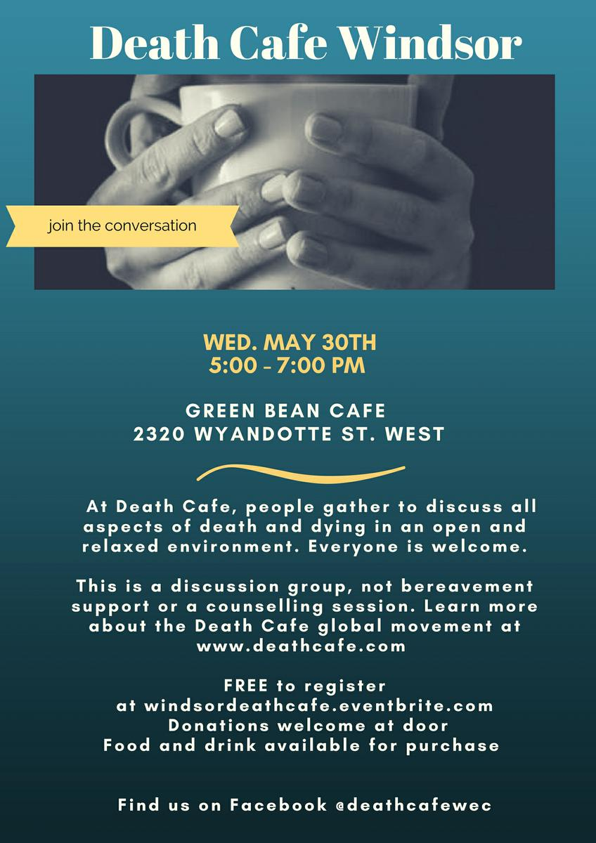 Death Cafe Windsor