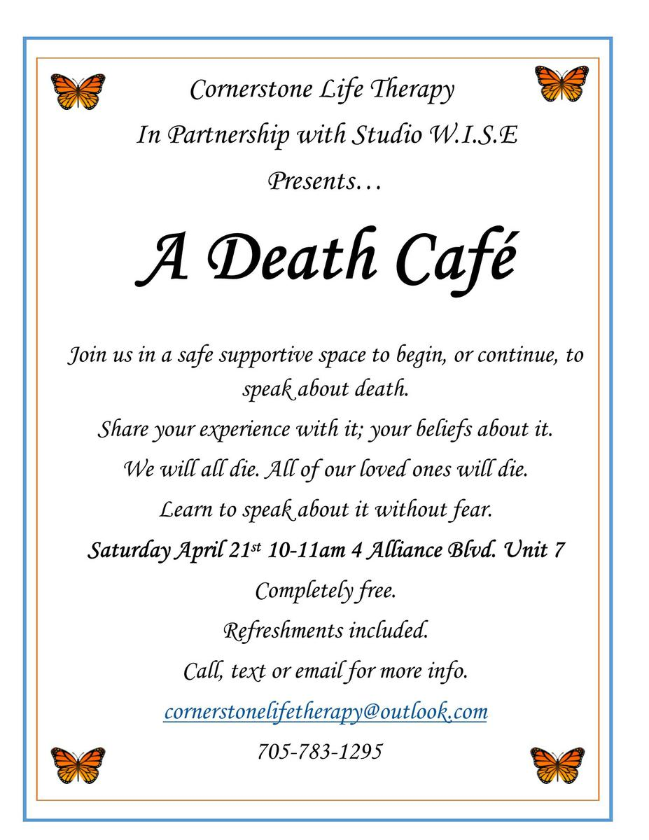 A Barrie Death Cafe
