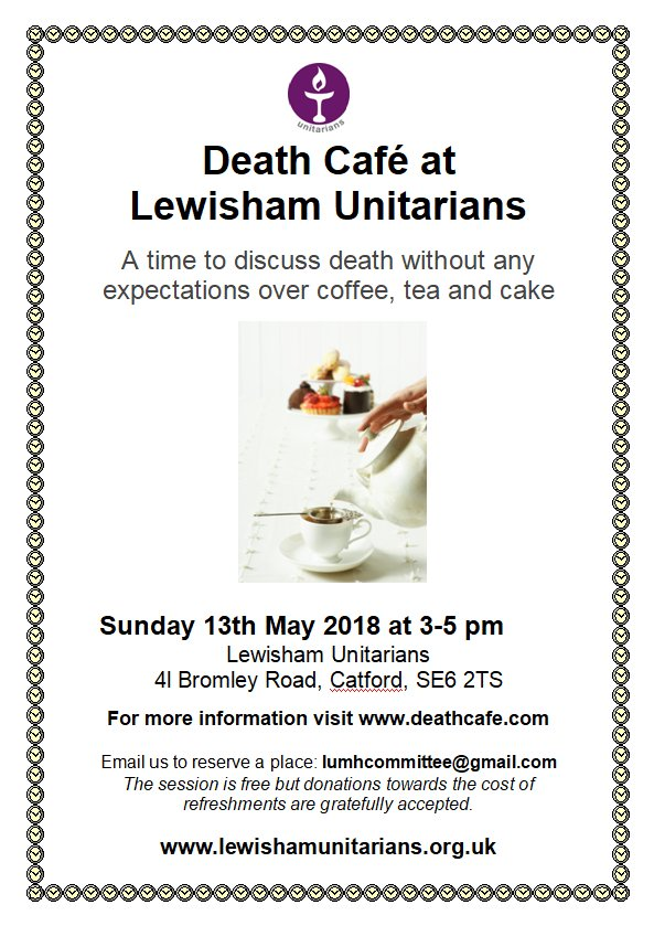 Death Cafe in Catford