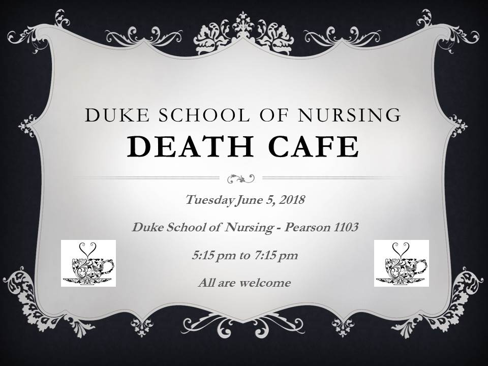 Durham NC Death Cafe