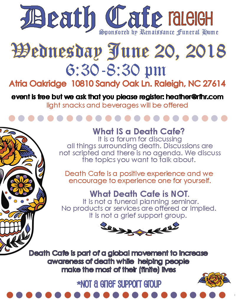 Death Cafe Raleigh