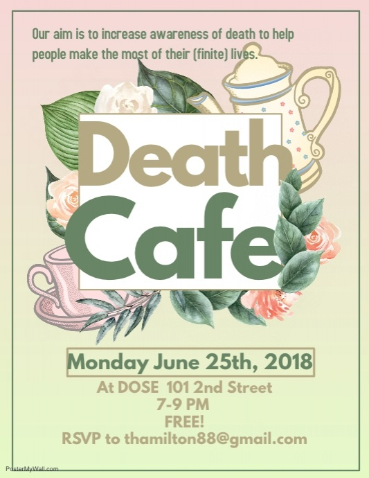 June Death Cafe Revelstoke