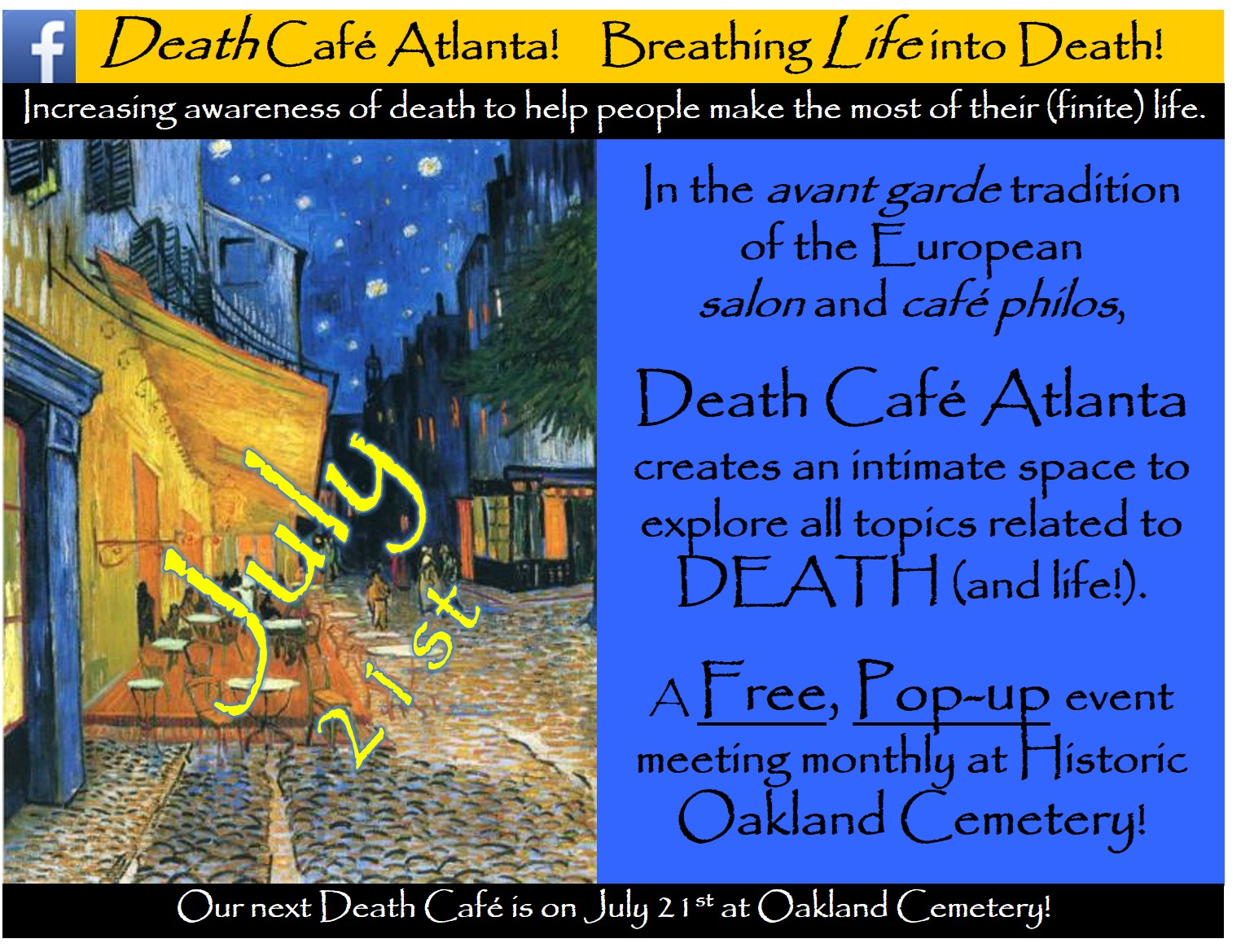 Death Cafe Atlanta #47