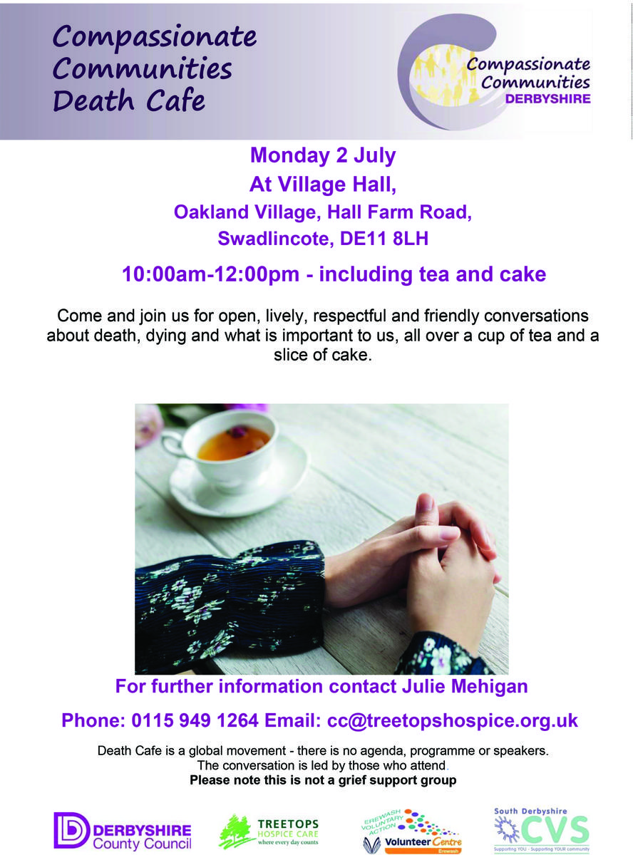 Compassionate Communities Death Cafe Swadlincote