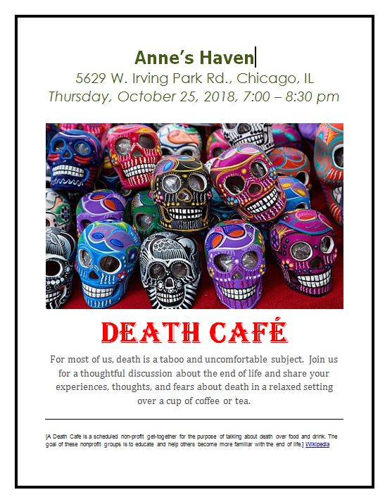 Anne's Haven Death Cafe IL