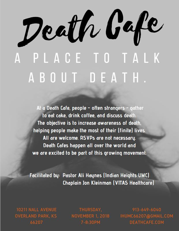 Death Cafe at Indian Heights United Methodist Church