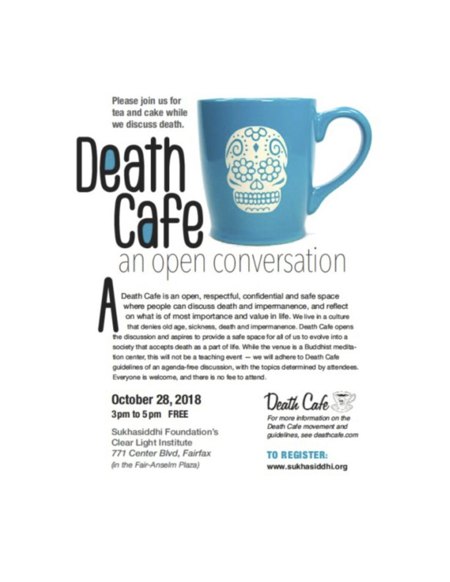 Fairfax Death Cafe An Open Conversation