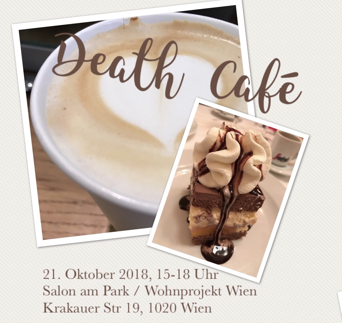 Death Cafe im Salon am Park