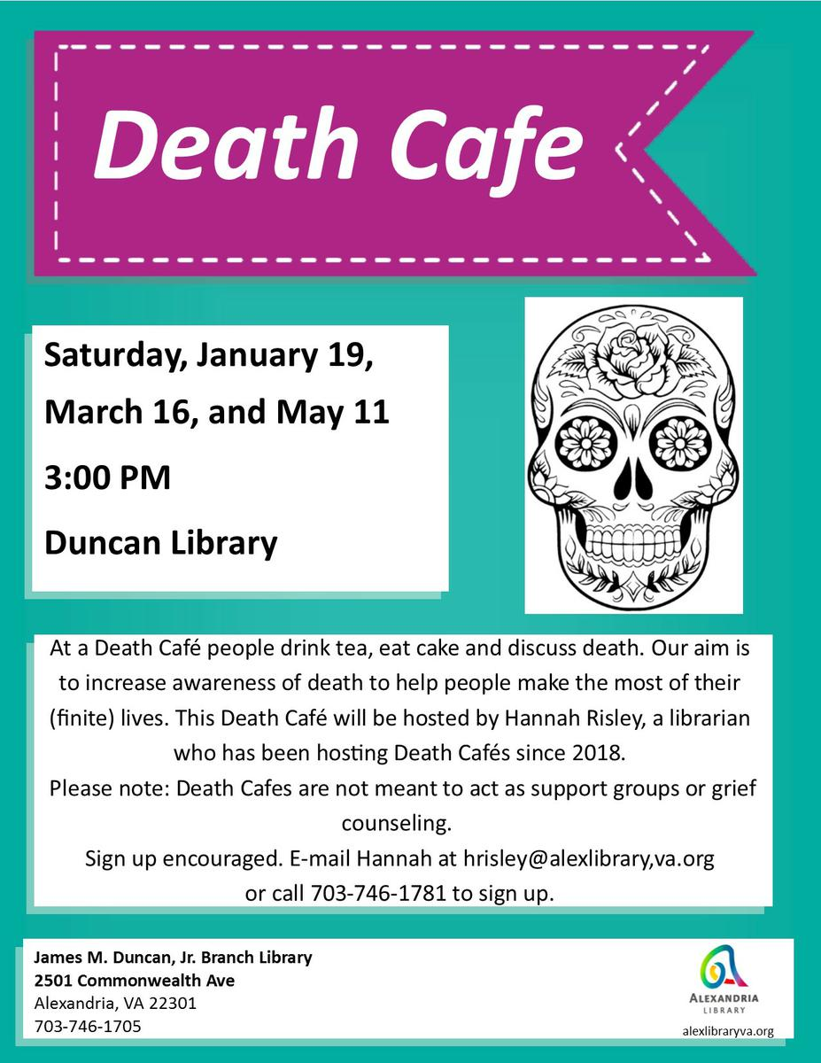 Death Cafe Alexandria VA