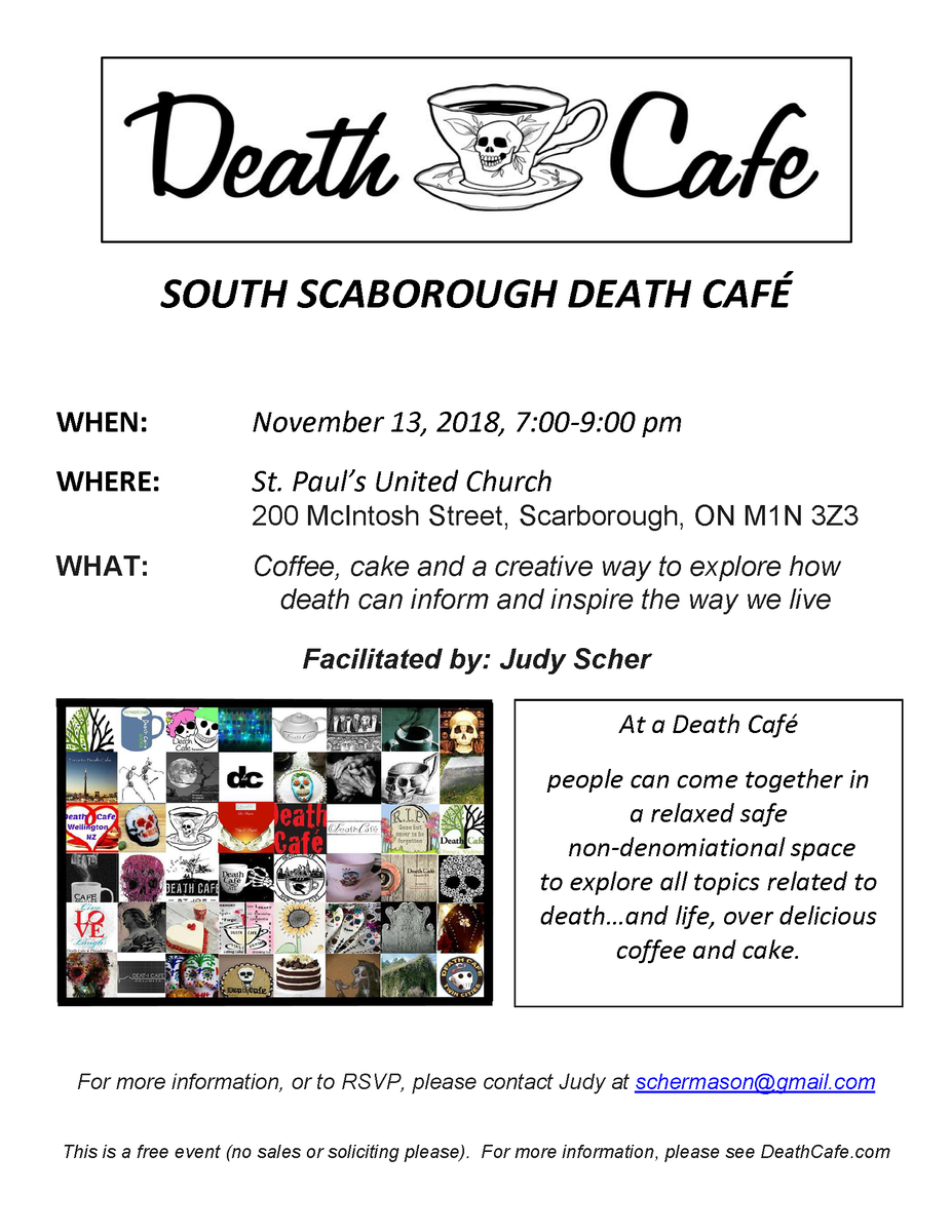 South Scarborough Death Cafe