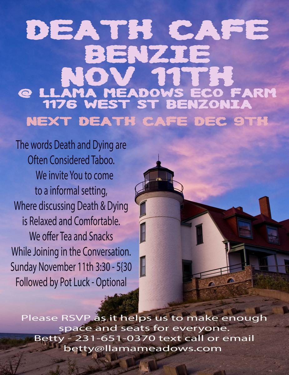 Death Cafe Benzie