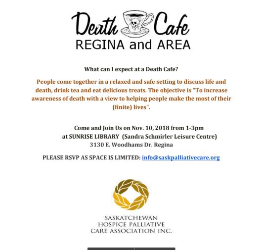 Death Cafe Regina and Area