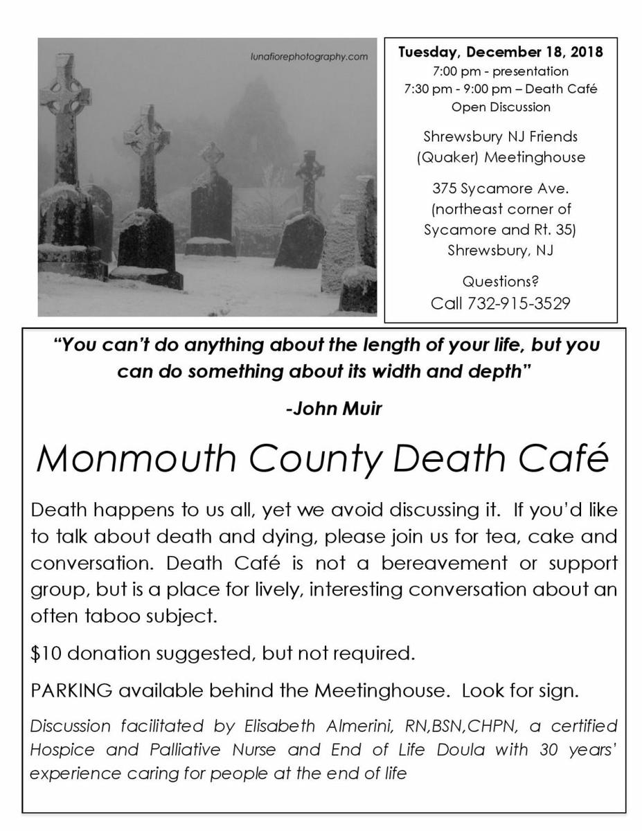 Monmouth County Death Cafe