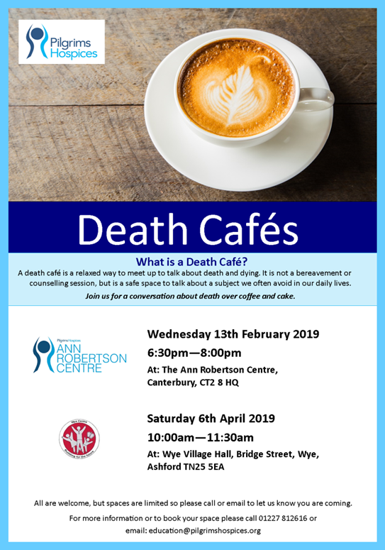 Death Cafe Wye