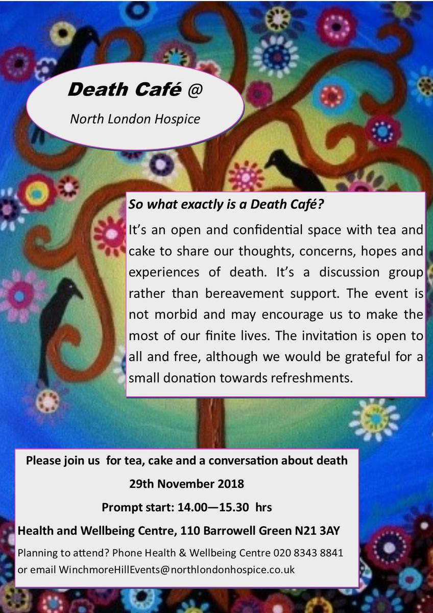 Death Cafe @ North London Hospice