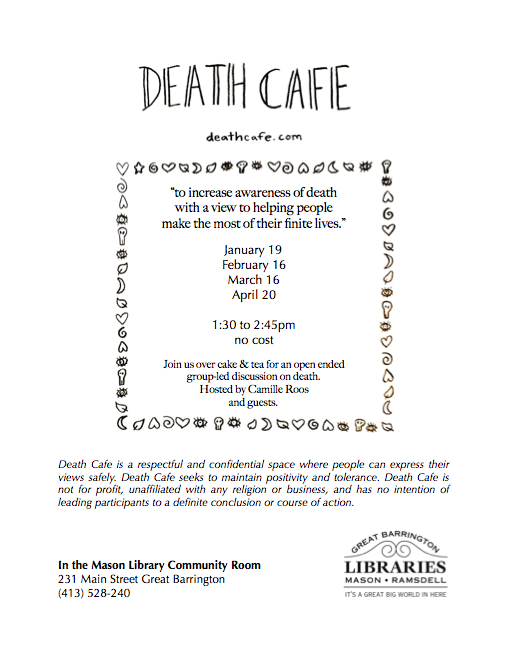 Death Cafe Great Barrington MA