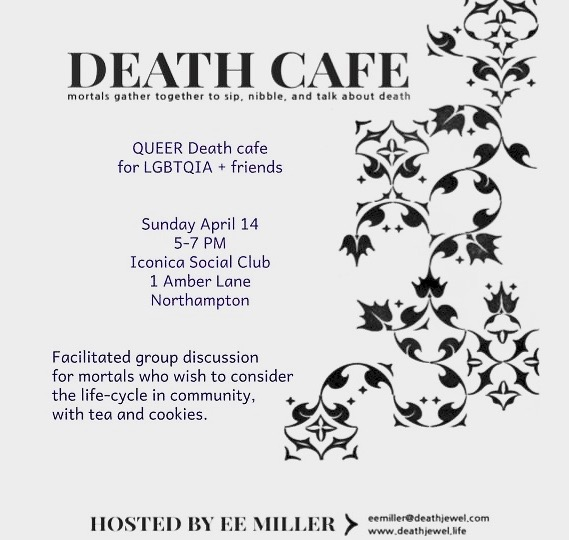 Northampton Death Cafe for LGBTQIA Mortals