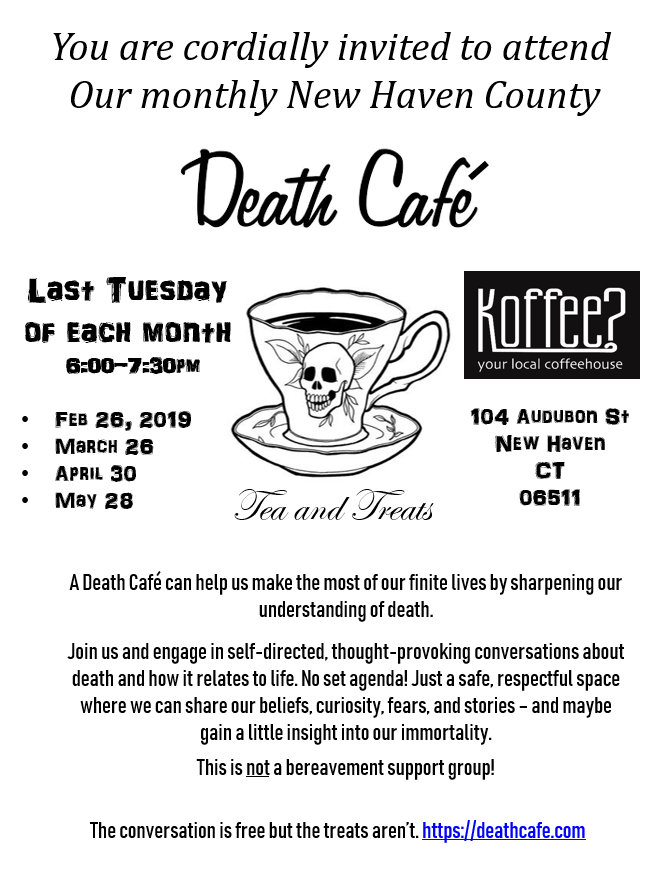 New Haven County Death Cafe