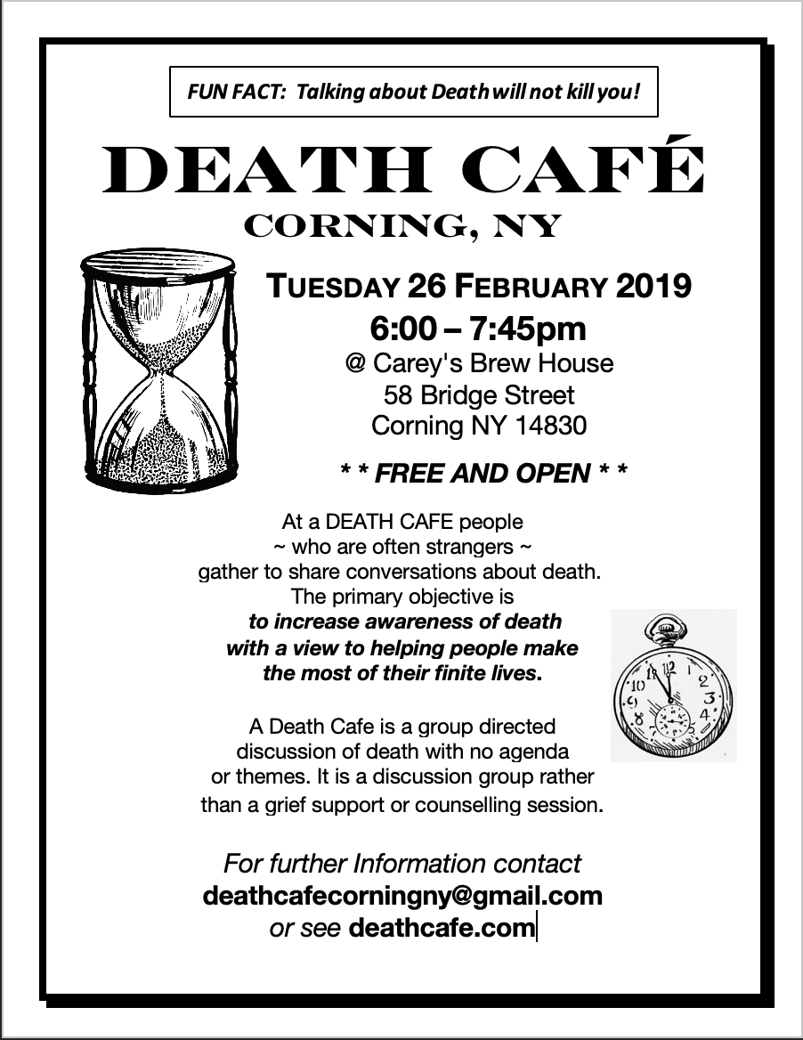 Death Cafe Corning NY