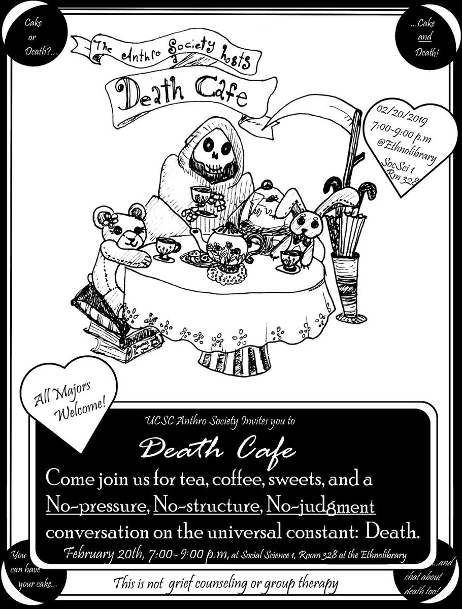 UCSC Anthro Society host Death Cafe