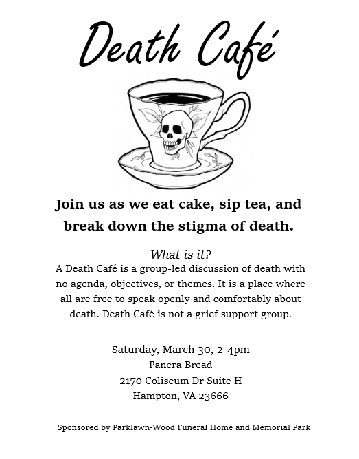 Death Cafe Hampton, VA