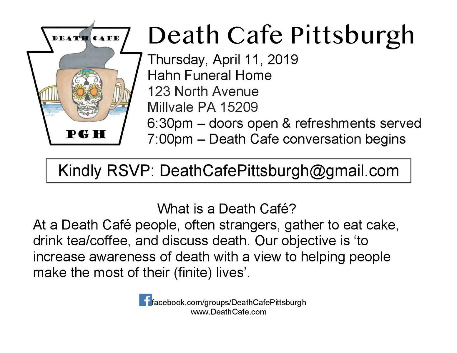 Death Cafe in Millvale