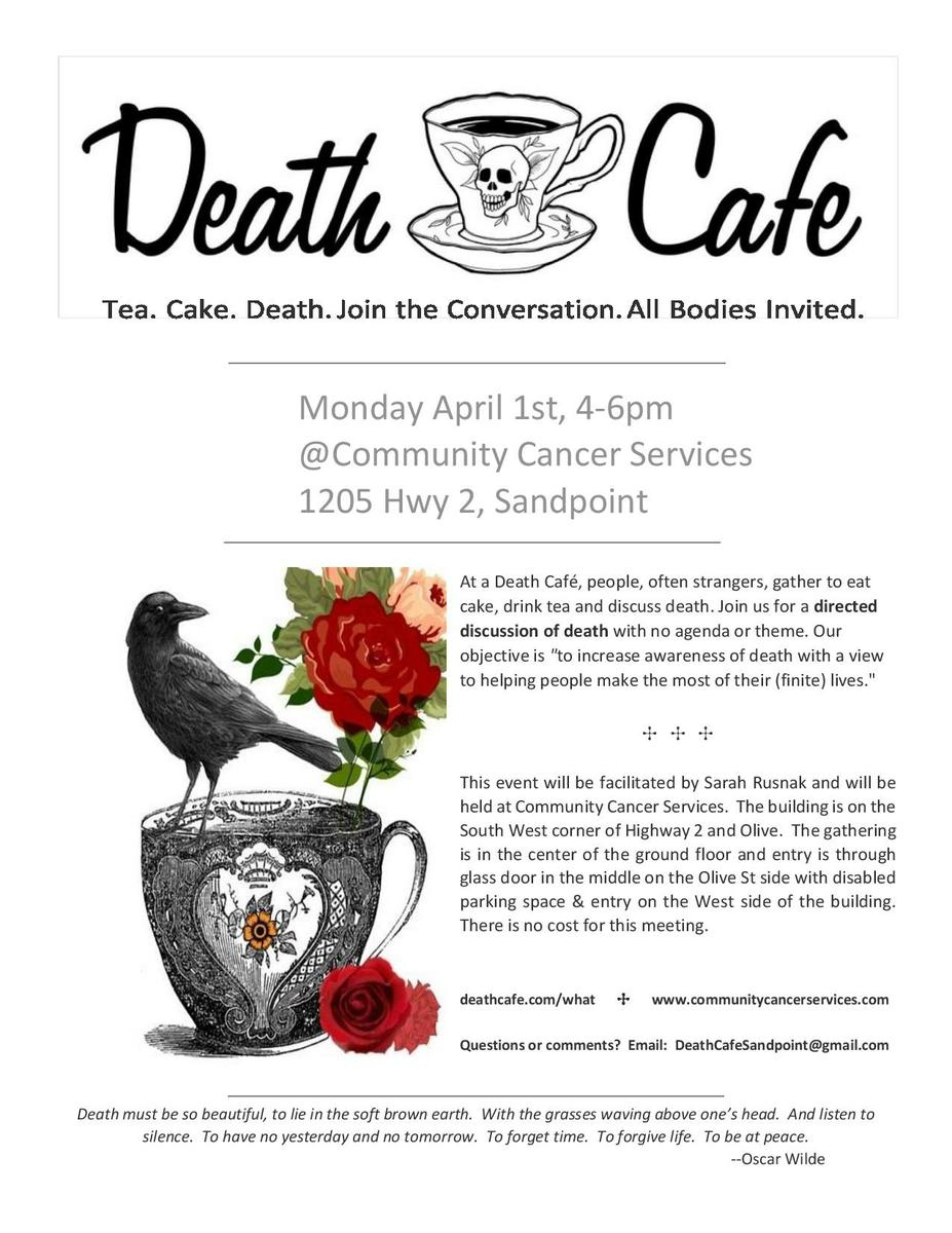 Sandpoint Death Cafe