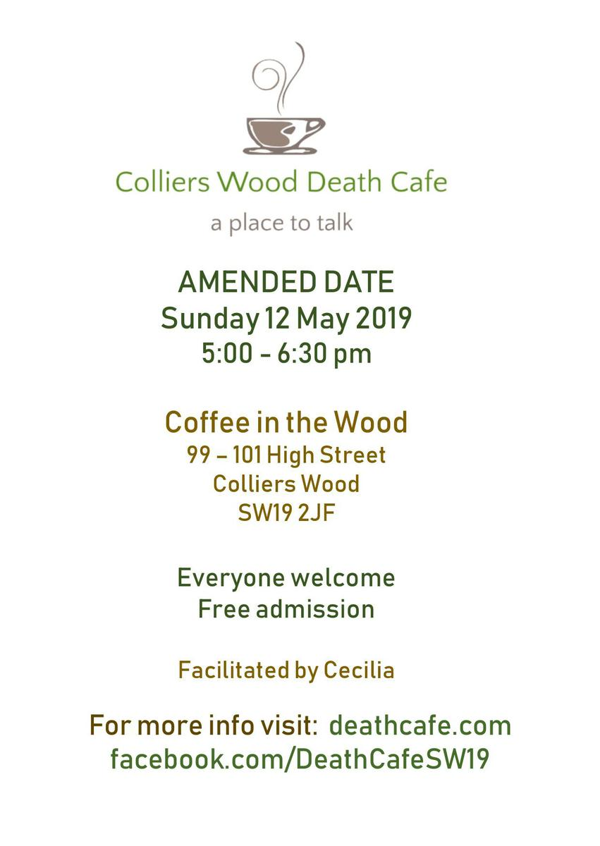 Colliers Wood Death Cafe