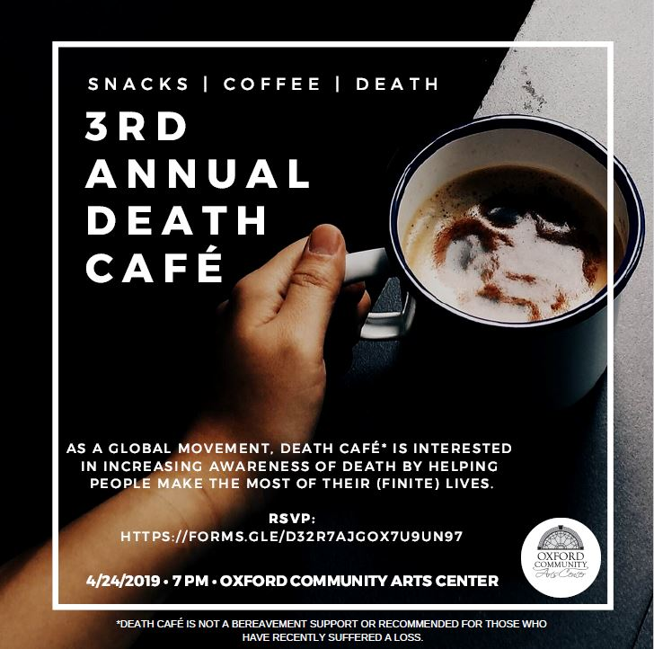 Death Cafe Oxford OH