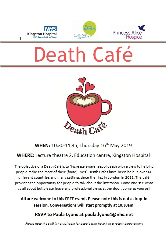 Kingston Death Cafe