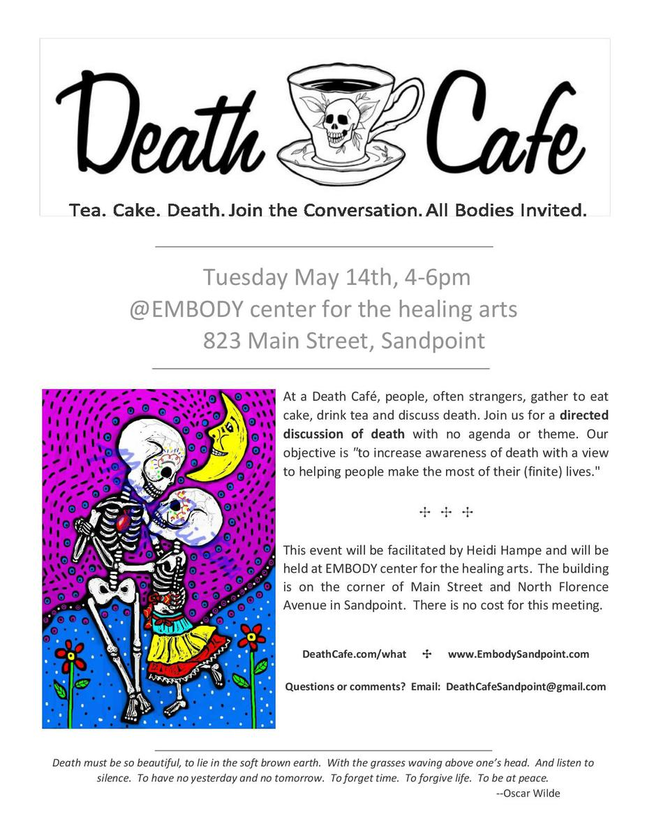 Sandpoint, ID Death Cafe