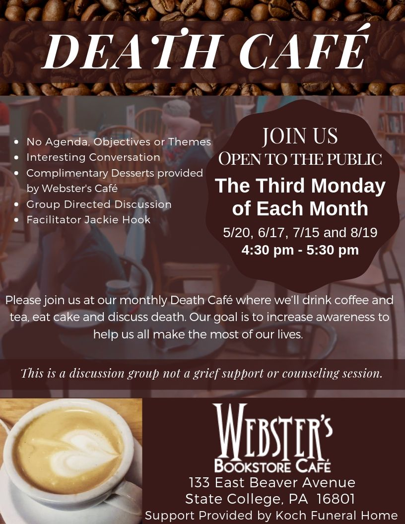 Death Cafe State College PA