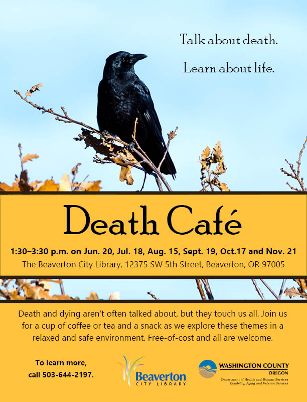 Death Cafe at Beaverton City Library