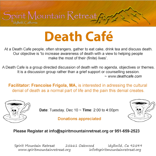 Idyllwild Death Cafe