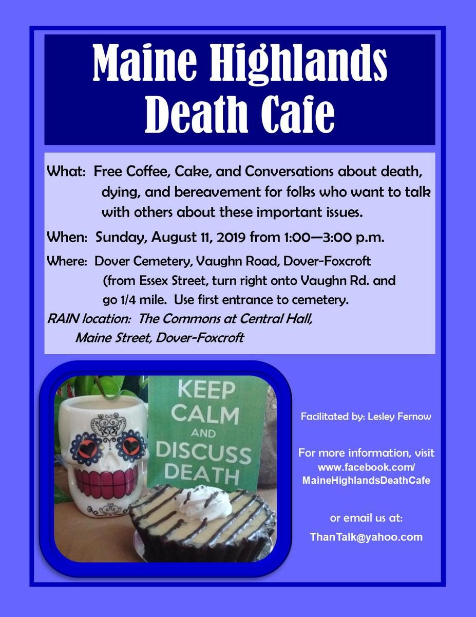 Maine Highlands Death Cafe