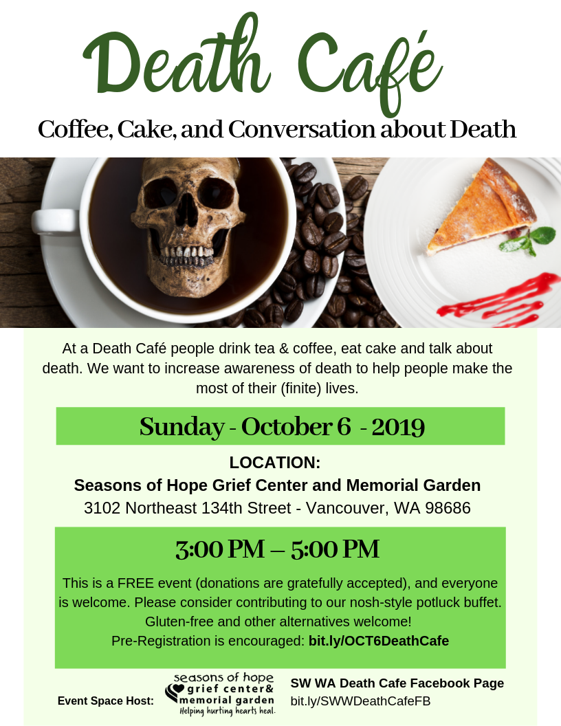 SW Washington Death Cafe