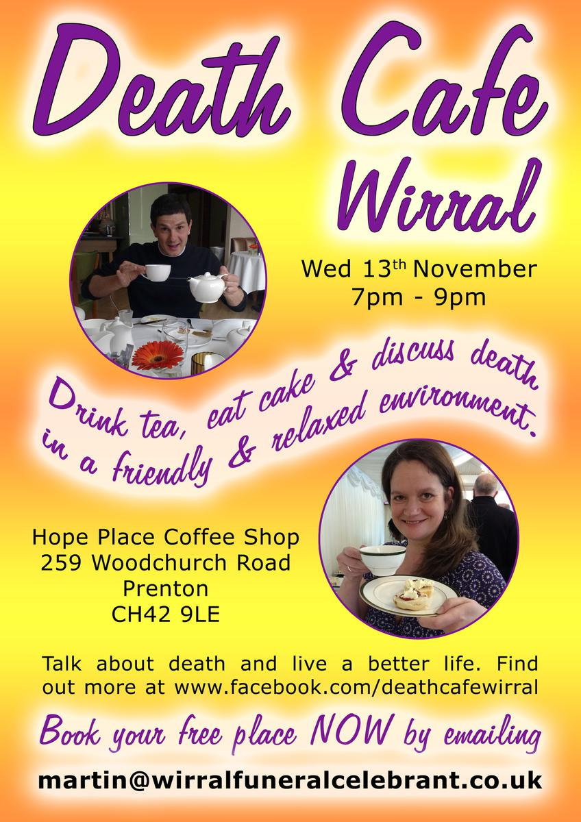 Death Cafe Wirral - CANCELLED