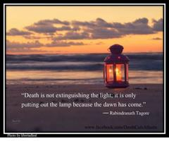 Tagore on death