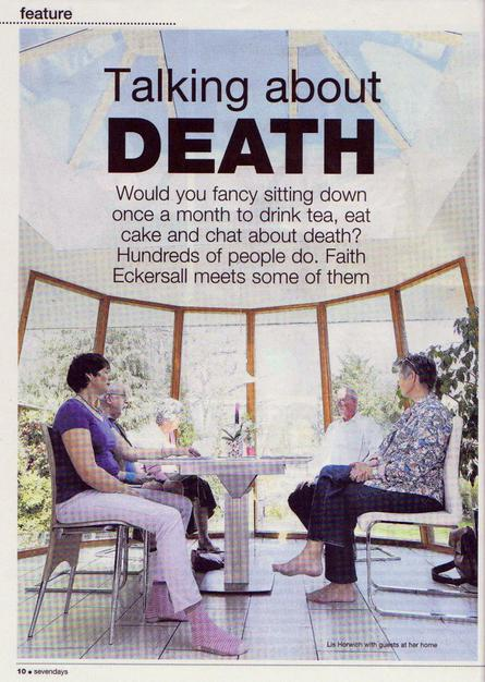 Lis Horwich on why she decided to set up the Highcliffe Death Cafe