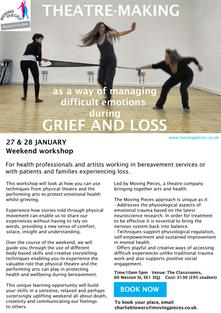 What role theatre-making and the performing arts can play in opening conversations about dying